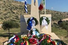 Il monumento ai dispersi e ai caduti del naufragio del Piroscafo Oria