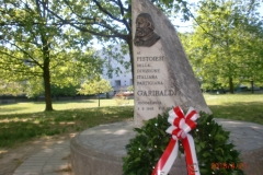 Commemorazione brigata Garibaldi Jugoslavia