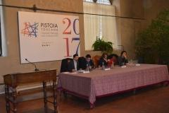 """Relatori convegno """"Dentro al cono d'ombra"""" Pistoia 30-01-2017"""