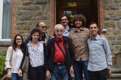 Il gruppo all'Istituto Alberghiero di Montecatini