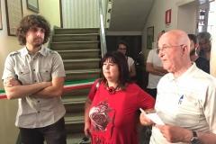 Matteo Grasso, Maria Stella Rasetti, Roberto Barontini