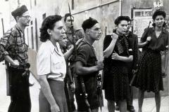 Partigiani pistoiesi, fra essi Liliana Cecchi