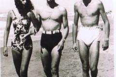 Gloria Capecchi, Silvano Fedi, Alessandro Spiti - 1940 al mare