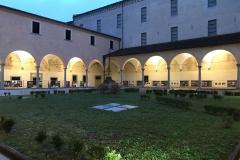 Il chiostro di San Lorenzo